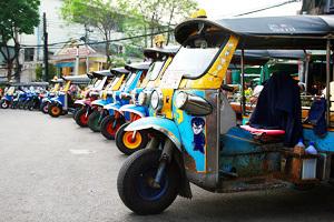 Тук тук. Бангкок. Таиланд.